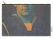 Portrait Of A Young  Wwi Soldier Series 10 Carry-all Pouch