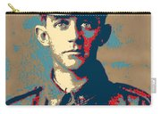Portrait Of A Young  Wwi Soldier Series 19 Carry-all Pouch
