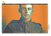 Portrait Of A Young  Wwi Soldier Series 6 Carry-all Pouch
