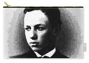 Portrait Of A Youth 30 By Adam Asar -  Asar Studios Carry-all Pouch