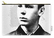 Portrait Of A Youth 35 By Adam Asar -  Asar Studios Carry-all Pouch