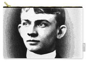 Portrait Of A Youth 36 By Adam Asar -  Asar Studios Carry-all Pouch