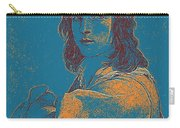 Portrait Of A Youth 50 By Adam Asar -  Asar Studios Carry-all Pouch