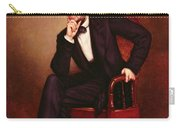 Portrait Of Abraham Lincoln Carry-all Pouch by George Peter Alexander Healy
