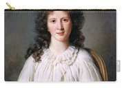 Portrait Of Adelaide Binart Carry-all Pouch