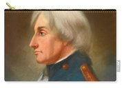 Portrait Of Admiral Lord Nelson Carry-all Pouch