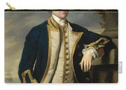 Portrait Of Admiral Sir Hugh Palliser 1st Bart Carry-all Pouch