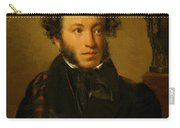Portrait Of Alexander Pushkin 1827 Carry-all Pouch