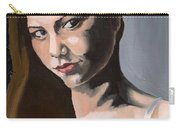 Portrait Of Amanda Carry-all Pouch
