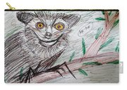 Portrait Of An Aye Aye Carry-all Pouch