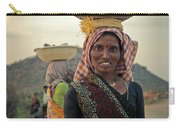 Portrait Of An Indian Lady Carry-all Pouch