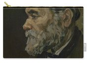 Portrait Of An Old Man Antwerp December 1885 Vincent Van Gogh 1853  1890 Carry-all Pouch