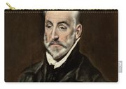 Portrait Of Antonio De Covarrubias Carry-all Pouch