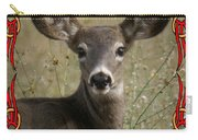 Portrait Of Bambi Carry-all Pouch