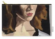 Portrait Of Becca Carry-all Pouch