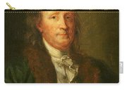 Portrait Of Benjamin Franklin Carry-all Pouch