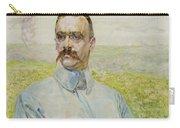 Portrait Of Brigadier Jozef Pilsudski Carry-all Pouch