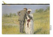 Portrait Of Captain William Holmes And Mary Shafter Mckitterick Carry-all Pouch