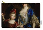 Portrait Of Catherine Coustard Carry-all Pouch by Nicolas de Largilliere