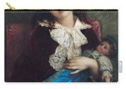 Portrait Of Catherine Du Bouchage Carry-all Pouch