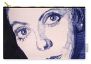 Portrait Of Catherine Carry-all Pouch