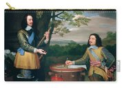Portrait Of Charles I And Sir Edward Walker Carry-all Pouch