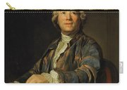 Portrait Of Christoph Willibald Ritter Von Gluck Carry-all Pouch