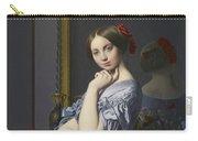 Portrait Of Comtesse D'haussonville Carry-all Pouch
