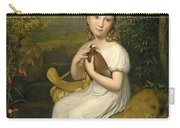Portrait Of Countess Louise Bose As A Child Carry-all Pouch