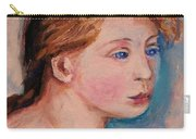 Portrait Of  Country Girl Carry-all Pouch