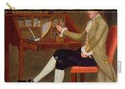 Portrait Of David Baldwin 1790 Carry-all Pouch