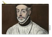 Portrait Of Diego De Covarrubias Y Leiva Carry-all Pouch