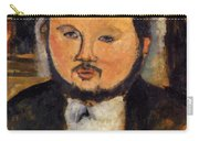 Portrait Of Diego Rivera 1914 Carry-all Pouch