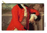 Portrait Of Edmund Rolfe Carry-all Pouch