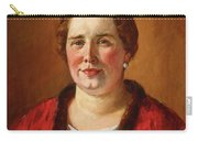 Portrait Of Ekaterina Ivanovna Kogan Carry-all Pouch