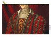 Portrait Of Eleanora Di Toledo Carry-all Pouch