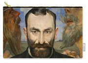 Portrait Of Feliks Jasienski Carry-all Pouch