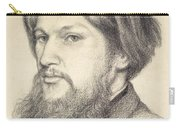 Portrait Of Ford Madox Brown Carry-all Pouch