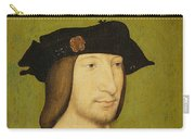 Portrait Of Francis I, King Of France Carry-all Pouch