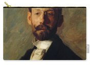Portrait Of Frank B A Linton 1904 Carry-all Pouch