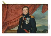 Portrait Of French Politician And Soldier Etienne Maurice Gerard Carry-all Pouch