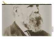 Portrait Of Friedrich Engels Carry-all Pouch