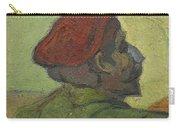 Portrait Of Gauguin Arles December 1888 Vincent Van Gogh 1853  1890 Carry-all Pouch