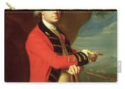 Portrait Of General Thomas Gage Carry-all Pouch by John Singleton Copley