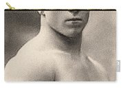 Portrait Of George Hackenschmidt Carry-all Pouch