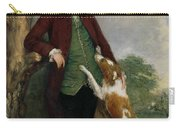 Portrait Of George Venables Vernon Carry-all Pouch by Thomas Gainsborough