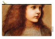 Portrait Of Gertie Lewis Carry-all Pouch