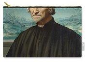 Portrait Of Girolamo Benivieni Carry-all Pouch