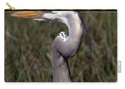 Portrait Of Great Blue Heron Carry-all Pouch