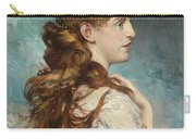 Portrait Of Harriet Valentine Carry-all Pouch